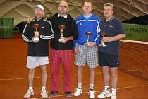 Finalisté turnaje Clubu Tennis Hranice.