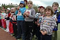 Děti z mateřských škol z Hranic a okolí zápolily na atletických přeborech