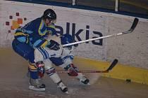 Hokejisté dali dárek trenéru Radoslavovi Svobodovi v podobě zlepšené hry korunované vysokým vítězstvím.