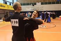 Taneční pár Lenka Svobodová a Miroslav Kubját uspěl na soutěži v Brně