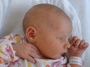 Denisa Richterová, Přerov, narozena dne 10. září 2016, míra: 51 cm, váha: 3330 g
