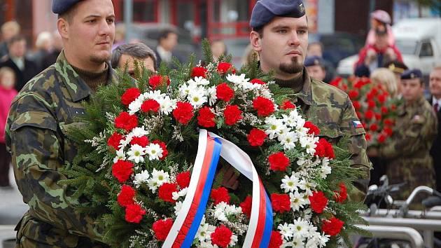 Oslavami Dne vzniku samostatného Československa žil Přerov.