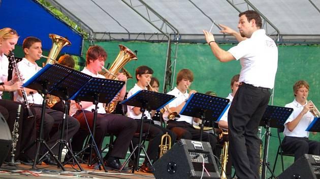 Seminář dechových orchestrů v hranickém parku