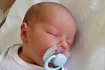 Eliáš Zajíc, Horní Moštěnice, narozen dne 28. dubna 2015 v Přerově, míra: 48 cm, váha: 2876 g