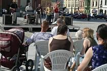 Hranické jazzrockové kapele patřilo náměstí.