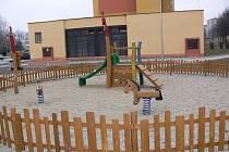 Dětské hřiště v Hranicích