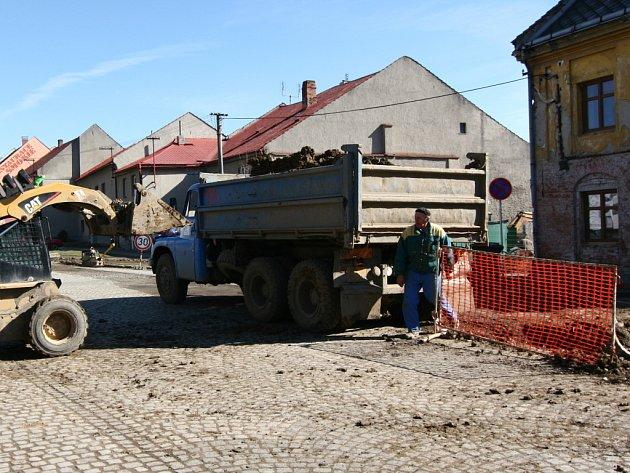 Stavební ruch by v Drahotuších mohl utichnout ještě letos.