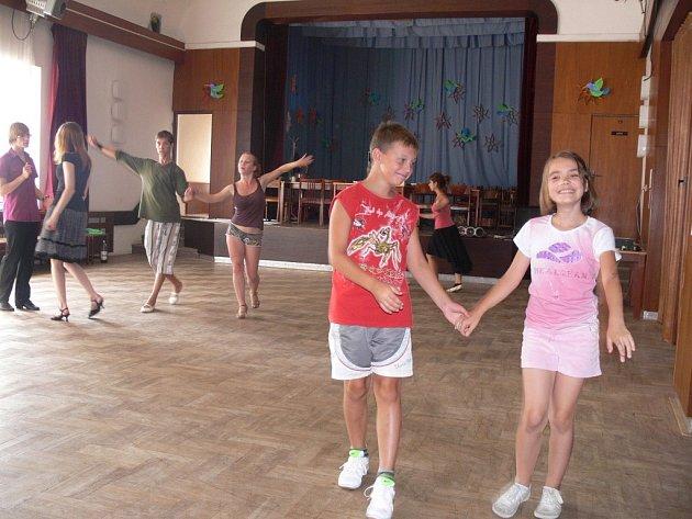 Taneční soustředění v Bělotíně