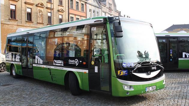 Hranické elektrobusy. Ilustrační foto