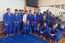Družstvo dorostenců Energy Judo Teamu.