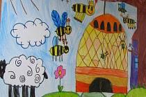 Výtvarná soutěž na včelí téma. Ilustrační foto