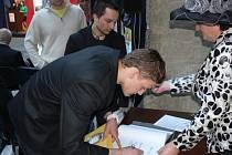 Slavnostní vyhlášení sportovce roku 2011 v Hranicích - judista Lubomír Holčák