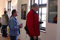 Výstava fotografií Stanislava Bajera s názvem Jordánsko 2009 v hranické Galerii Severní křídlo zámku