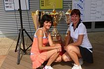 Hranické tenistky uhájily bronz na MČR