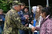 Akce Armáda dětským domovům v Hranicích