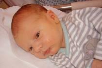Adam Behanec, Kojetín, narozen 2. 4. v Přerově, míra 51 cm, váha 4 020 g