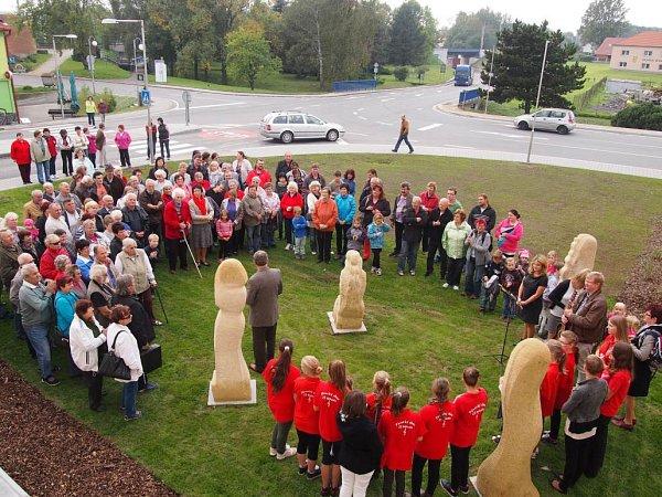 Prohlídka nových bytových jednotek vBělotíně vzbudila velký zájem