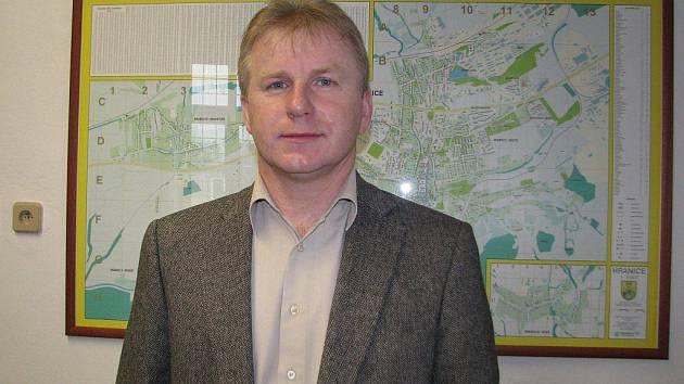 Petr Čech, starosta obce Horní Těšice