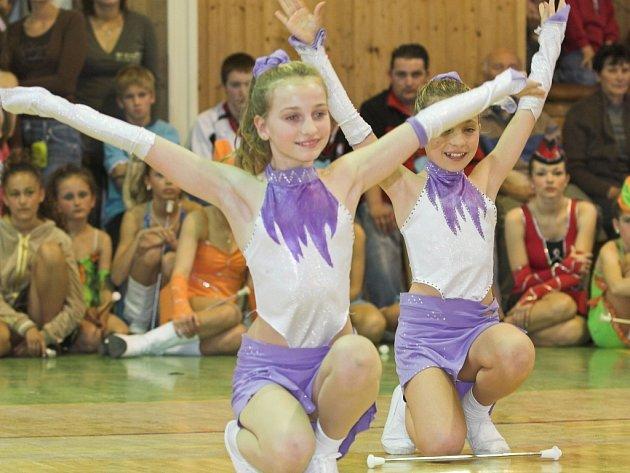 Bělotín patřil v neděli soutěži mažoretek.