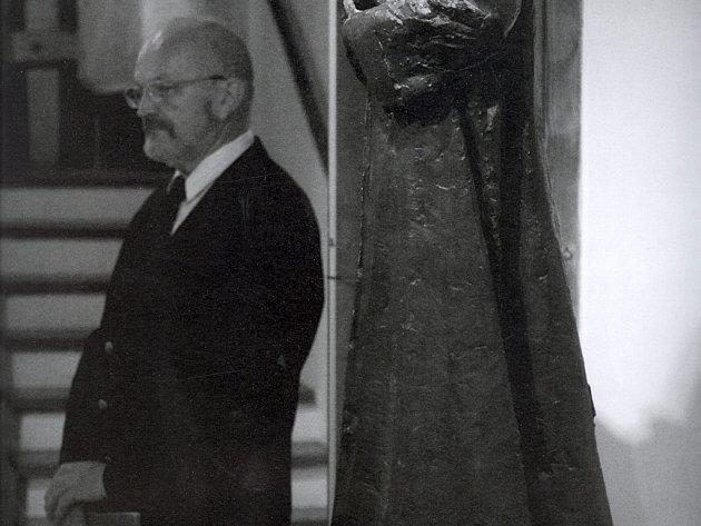 František Hýbl odchází po 39 letech práce v Muzeu Komenského do penze.