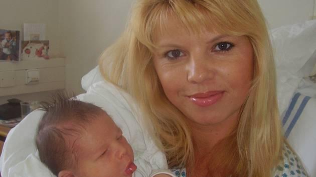 Simona Ryšavá, Přerov , syn Matěj Ryšavý, narozen 17. srpna v Přerově, míra 53 cm, váha 4360 g