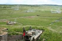 Vojenský výcvikový prostor Libavá.