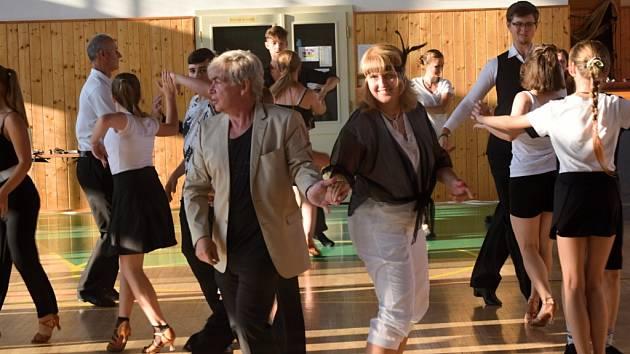Soustředění tanečního klubu A-klub Hranice.