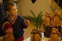 Inspirace na Vánoce přišla v pravý čas v podobě vánočně laděné výstavy.
