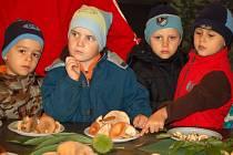 Výstavu hub si nenechaly ujít především mateřské a základní školy.