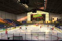 Předběžná podoba toho, jak bude vypadat zrekonstruovaný zimní stadion v Přerově.