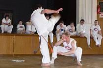 Brazilské umění Capoeira si vychutnali v sobotu návštěvníci Sokolovny