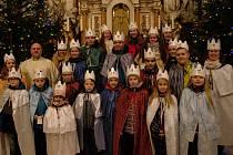 Koledníci Farní charity Všechovice navštívili v sobotu 4. ledna spoluobčany vobcích Býškovice, Horní Újezd, Malhotice, Provodovice, Rouské a Všechovice.
