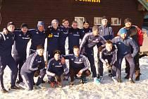 Fotbalisté Ústí na soustředění na Pradědu