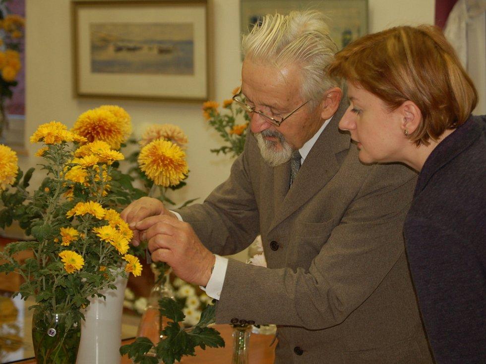 Na sto padesát druhů chryzantém bylo k vidění o víkendu v Bochoři.