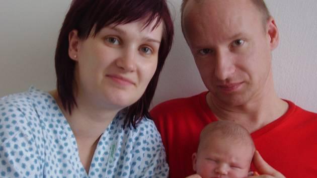 Lucie Grufíková, Kojetín dcera Veronika Grufíková, narozena 23. 2. 2008 v Přerově, váha 3,32 kg