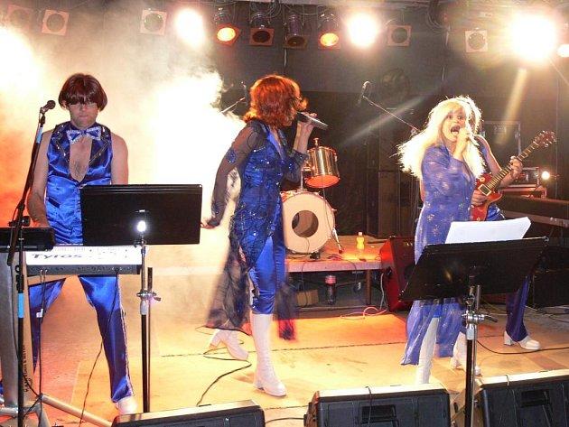 Rockový festival Hranická scéna - ABBA revival.