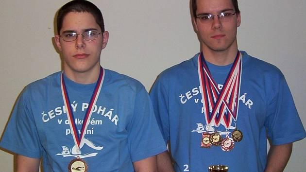 Sourozenci Jaroslav a Vlastimil Zaoralovi měli letos doslova medailové žně.