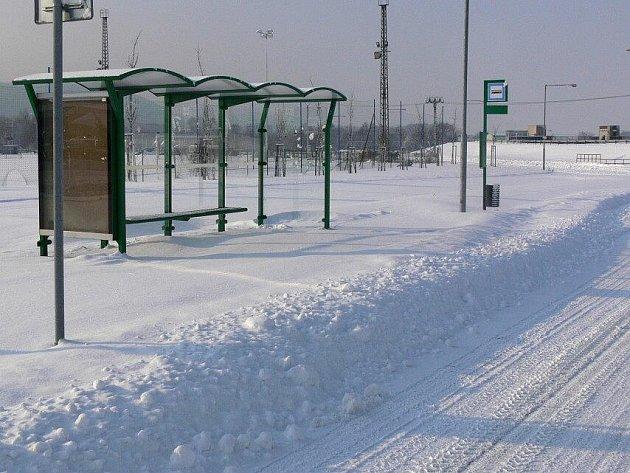 Zasněžené Hranice a okolí