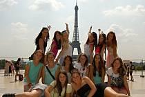 V Paříži si mažoretky prohlédly město i Eiffelovku