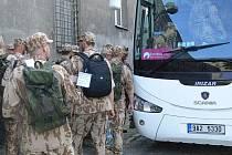 Vojáci hranické posádky odjíždí do Afghanistánu