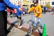 Den bez aut na hranickém náměstí