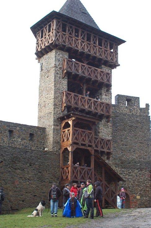 Novoroční výšlap na hrad Helfštýn