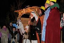 Mikulášská nadílka a ztvárnění biblického příběhu v Horních Těšících