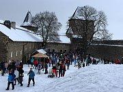 42. ročník tradičníhozimníhovýstupu na Helfštýn