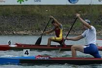 Rychlostní kaniosta Martin Plšek (č. 4) je již v plné přípravě na sezonu, ve které bude bojovat o Olympijské hry v Pekingu.