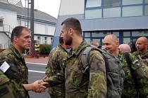 Vojáci ze 74. Lehkého motorizovaného praporu z Bučovic odlétají do Mali. Tam nahradí vojáky z Hranic, kteří v Africe působili půl roku.