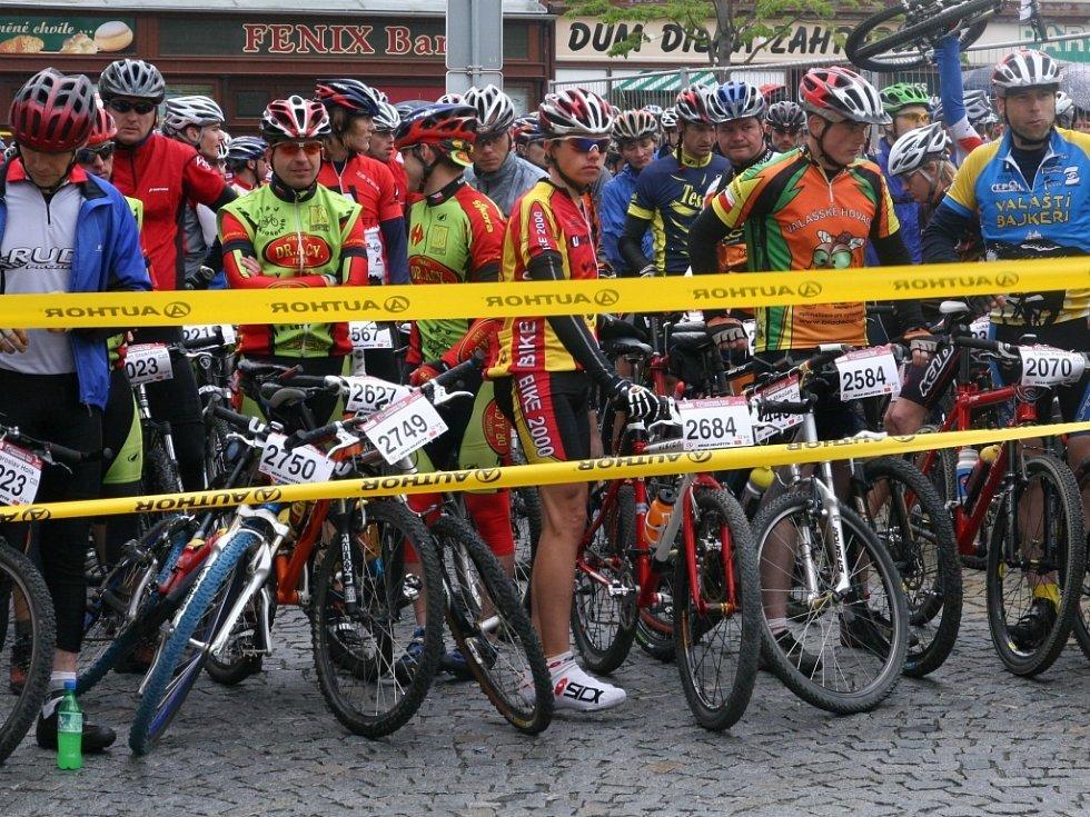 Velký zájem ze strany jezdců byl letos o kratší 52 kilometrů dlouhou trať.