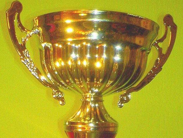 Pohár za druhé místo.