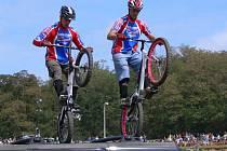Nyní se Pavel s Adamem připravují na třídílný závod mistrovství světa ve Španělsku Francii a Japonsku.
