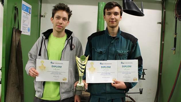 Studenti Střední průmyslové školy v Hranicích uspěli na celostátní soutěži.
